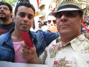 صورتي مع الفنان سامر المنياوي
